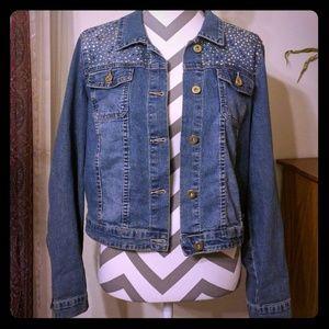 🛍️2/$15🛍️ Cato Blue Denim Jacket